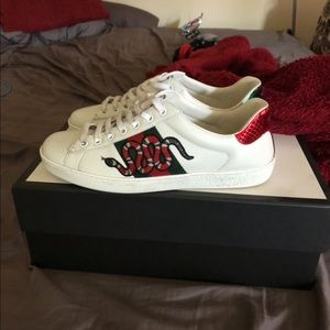 Gucci Shoes | Gucci Ace Snake Sneaker